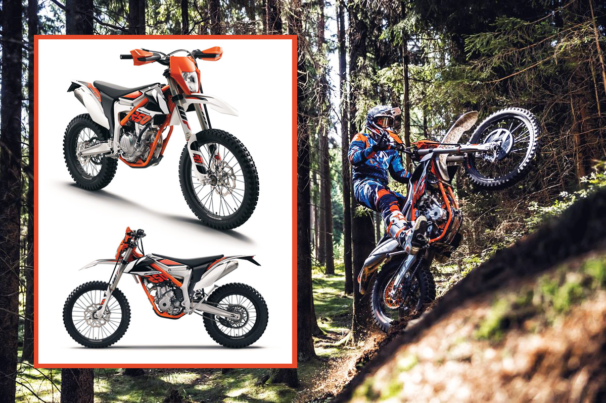 first look to new 2018 ktm freeride 250 f enduro channel. Black Bedroom Furniture Sets. Home Design Ideas